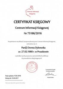 Dorota_Dybowska_Certyfikat_Księgowy_CIK_75186